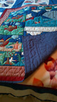 HOME MADE CRIB QUILT