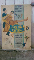 ANTIQUE POSTER-JUKE BOX RHYTHM