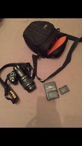 Nikon D3000 - DSLR - 18 - 55mm lens