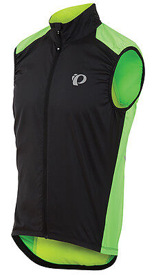 Pearl Izumi Elite Barrier Bicycle Cycling Vest Screaming Green Black Medium c50bb0066