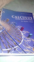 Calculus textbook MA129 Laurier