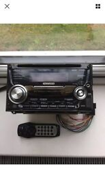 Kenwood double din stereo with front usb and front aux port