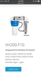 Viqua UV Water Disinfection System with Pre-filtration Cambridge Kitchener Area image 2