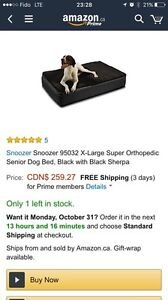 Selling Used Orthopedic XL Dog Bed Fair Condition