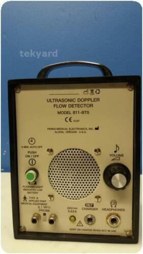 PARKS MEDICAL ELECTRONICS 811-BTS ULTRASONIC DOPPLER FLOW DETECTOR % (276456)
