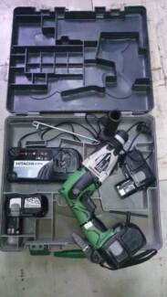 HITACHI CIRCULAR SAW & HAMMER DRILL 18V CORDLESS COMBO Torrensville West Torrens Area Preview