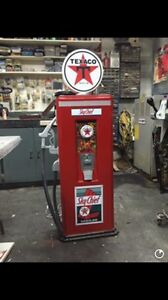 Gum ball texaco gas pump