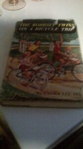 Vintage Book, The Bobsey Twins 1958, ON a Bicycle Trip