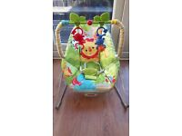 Fisher price baby bouncer with vibration