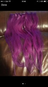 6 pieces of 14'' Real Hair Extensions from Sallys