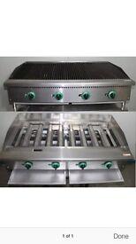 American char boiler grill/ 4 burner char grill 1210mm