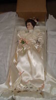 New price - Ashton Drake Elizabeth's 1900's Wedding Dress Doll