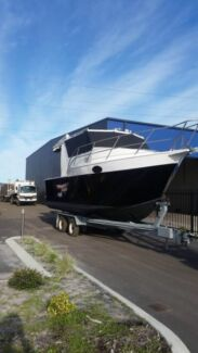 35ft aluminium turbo diesel fishing boat , launch, on trailer  Armadale Armadale Area Preview