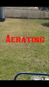 Fall Lawn Aerating (Pluggs) Starting at $25