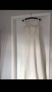Wedding Dress - Size 1-2 Kitchener / Waterloo Kitchener Area image 1