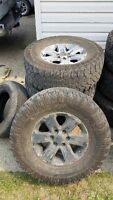 Stock f150 rims with 35s on them