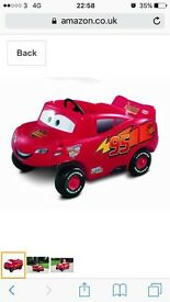 Disney cars lightening McQueen little tykes car
