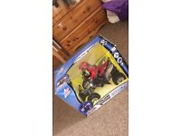Remote control toy quad bike