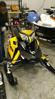 2014 MXZ Great sled on gas and comfort