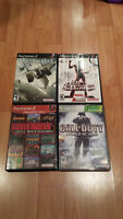 3 PS2 games and 1 game Xbox 360