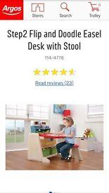 Easel desk