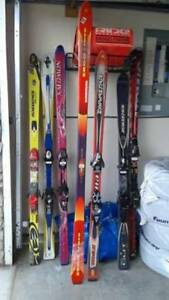 DOWNHILL SKIS-EXC. COND. BIG NAMES