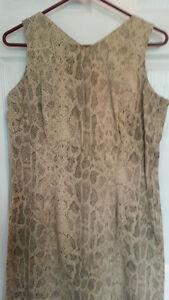 Snakeskin Print Sheath Dress - Size 6 - NEW Gatineau Ottawa / Gatineau Area image 4