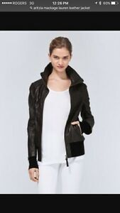 Aritzia Mackage Lauren Leather Jacket - Medium