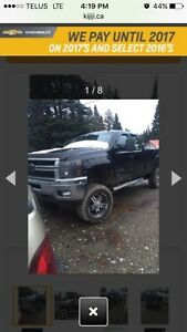 2011 duramax LTZ LOW KMS lifted Prince George British Columbia image 3