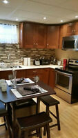 Fully Furnished beautiful basement suite NO CHILDREN-NO PETS