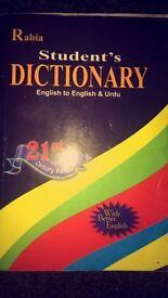 Urdu to Engliah dictionary