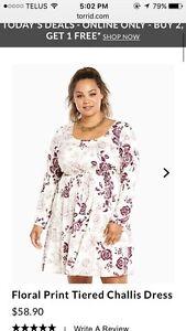 Plus Size Torrid Dress - Size 4x