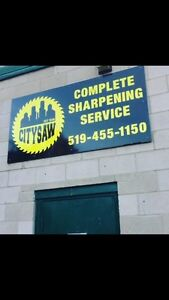 Citysaw sharpening service. NEW OWNER!  London Ontario image 1