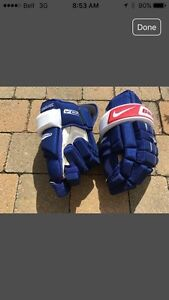Bauer NHPRO Hockey Gloves - Montreal Canadiens  West Island Greater Montréal image 1