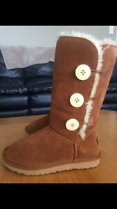 Tall Bailey Button Ugg Boots sz 6 Kitchener / Waterloo Kitchener Area image 1