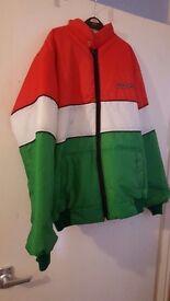 Ducati motorcycle bomber style jacket large vintage rare!!