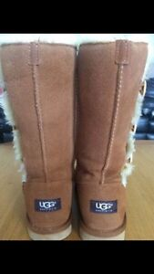 Tall Bailey Button Ugg Boots sz 6 Kitchener / Waterloo Kitchener Area image 3