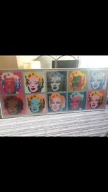 Andy Warhol Marilyn Monroe pop art print home art Bradley