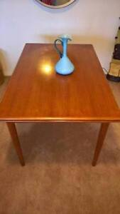Authentic Danish teak timber dining table (price dropped $150!!) New Farm Brisbane North East Preview