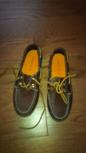 Brand new genuine leather Timberland shoes for kids