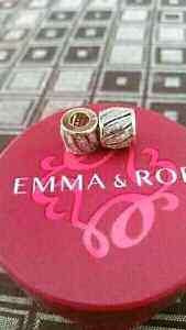 Emma&Roe/Pandora style 10ctgold 1/4carat diamond charm RRP749ea Marsden Logan Area Preview