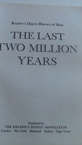 The Last Two Million Years, Reader's Digest, 1973 Kitchener / Waterloo Kitchener Area image 2