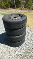 4 x Westlake 185/60R14 All Season Tires and Rims and Timing Belt