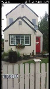 Downtown Kelowna 3 Bedroom house - available February or March
