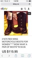Size 8 and a half motorcycle boot