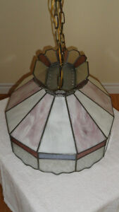 Oval Stained Glass Lamp Cambridge Kitchener Area image 2