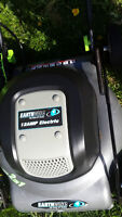 """Excellent Earthworks 18"""" 2 in 1 Electric Lawnmower SEE VIDEO"""