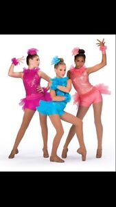 Pink dance costume (jazz or tap)  West Island Greater Montréal image 1