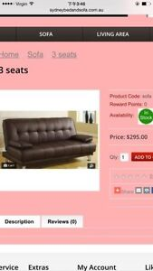 Brand new sofa bed for sell 70% off $99 Campsie Canterbury Area Preview