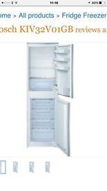 Bosch KIV32V01GB integrated fridge freezer